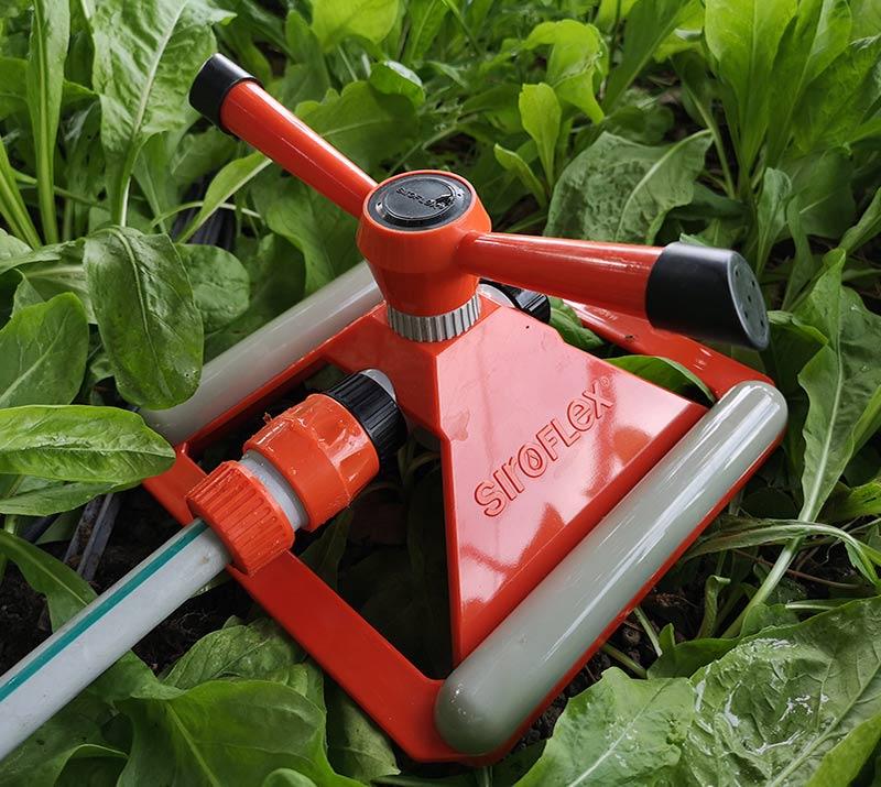 irrigatore a braccetto mobile gemini