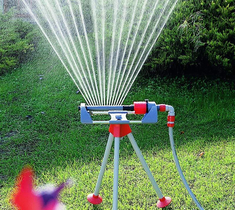 irrigatore oscillante supporto trepidi