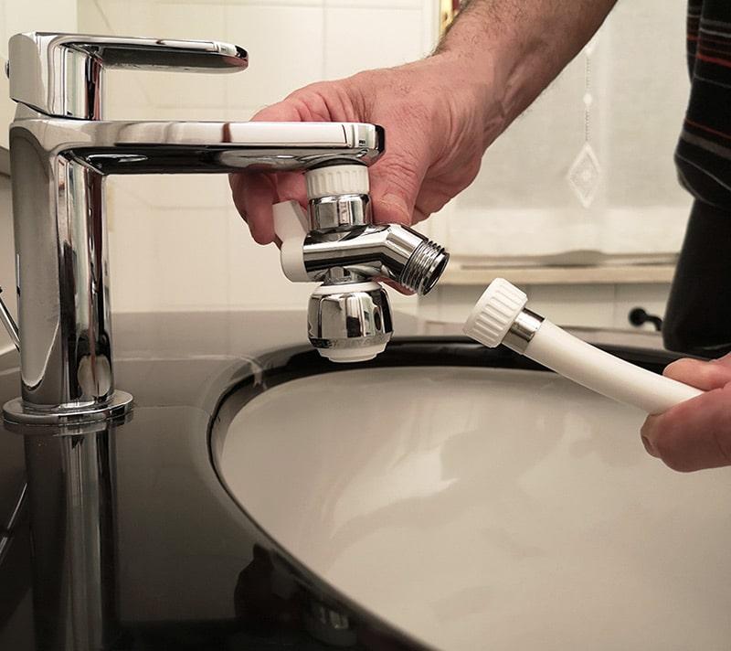 siroflex deviatore e tubo doccia