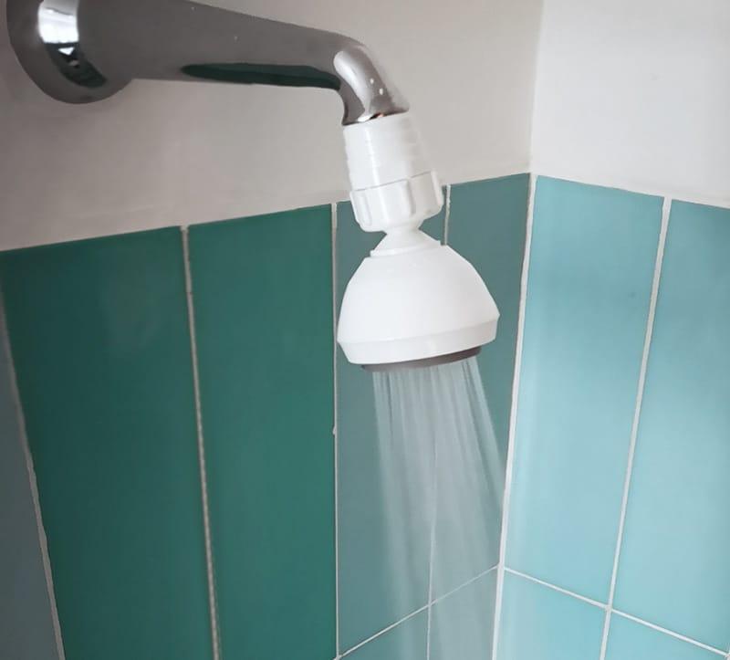 soffione doccia non cromato