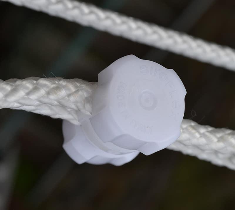 siroflex morsetto per fune stendibiancheria