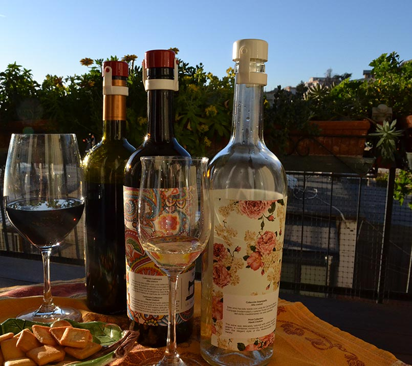 siroflex tappo a scatto per bottiglie di vino