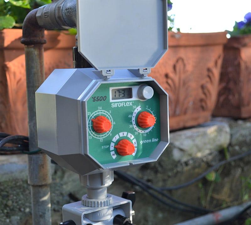 centralina automatica modello 5500 orologio a cristalli liquidi