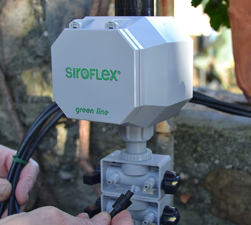 siroflex centralina automatica modello 5500-3