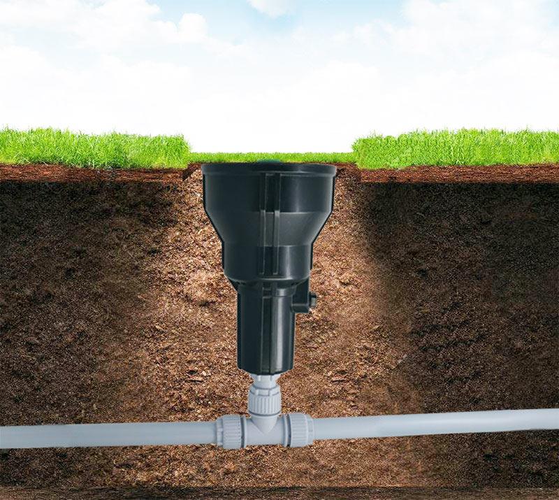 siroflex irrigatore interrato chiuso